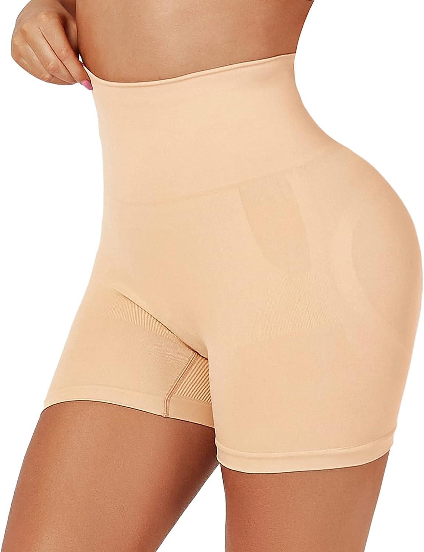 Seamless Shapewear Tummy Control Shorts for Women High Waist Body Shaper Underwear Slip Shorts Under Dress
