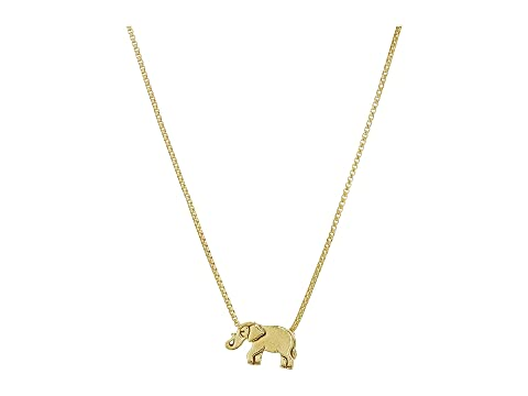 "Elephant 18"" Adjustable Necklace   Precious Metal by Alex And Ani"