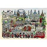 HUADADA Jigsaw Puzzles for Adults 1000 Piece Jigsaw Puzzle 1000 Piece London Tour