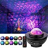 StillCool Proyector de Luz Estelar, lámpara de proyector, lámpara de Noche, lámpara de Reproductor de música con...