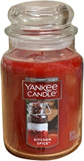 Yankee Candle Single Wick Scented Glass Candle (Large Jar, Kitchen Spice)