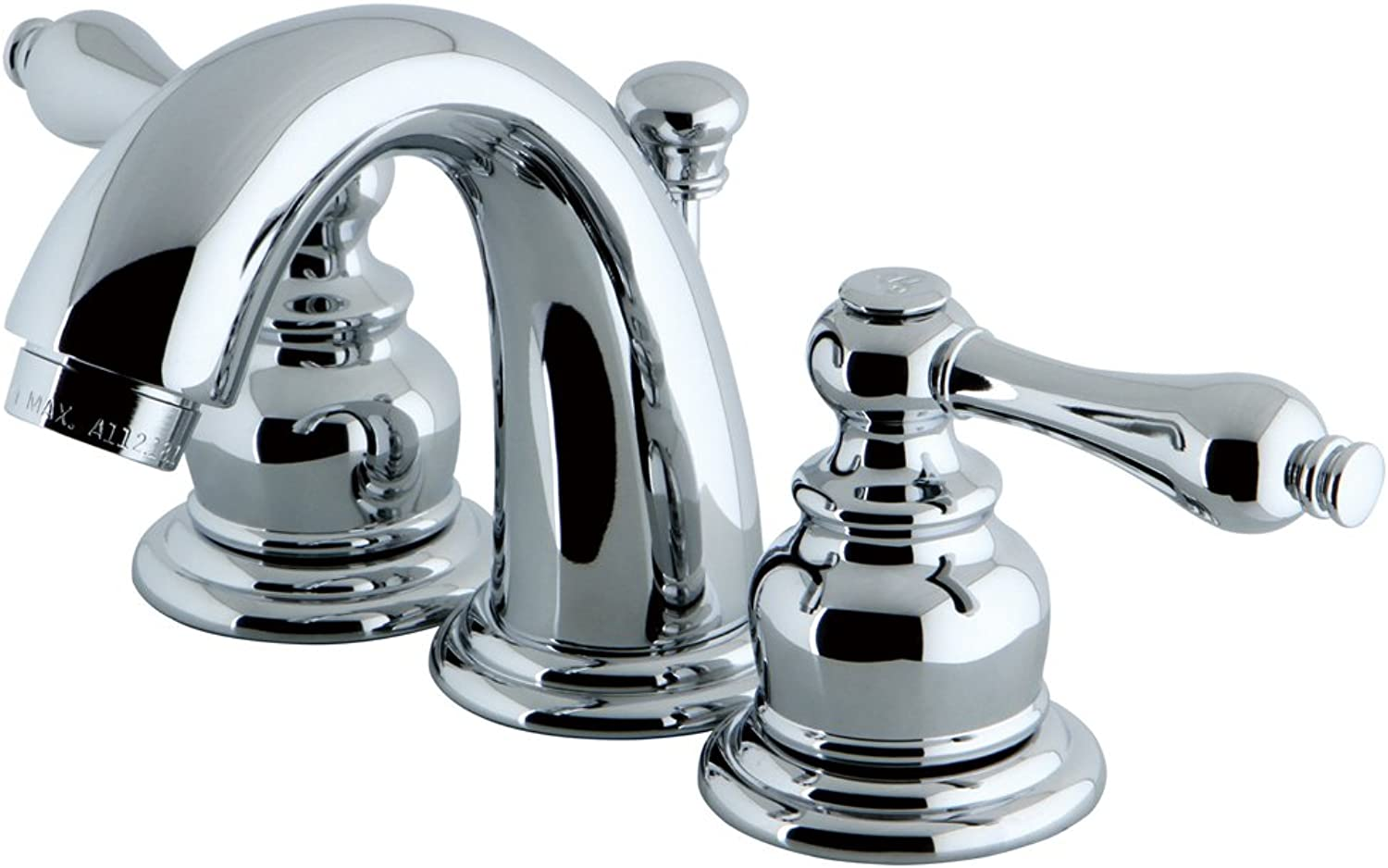 Elements of Design Magellan EB911AL Mini Widespread Lavatory Faucet with Retail Pop-Up, 4-Inch to 8-Inch, Polished Chrome by Elements of Design