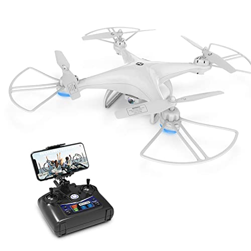 Drone With Camera Deerc Hs110d Drone For Beginners With 720p Hd Fpv Camera 120