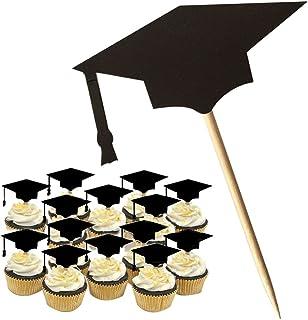 KAIMENG Decoración de pastel de graduación Graduación Cap Cake Topper, 2018 Para la decoración de