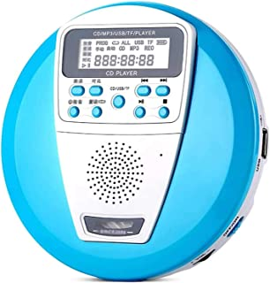 NJC Portable CD Player Personal Compact Disc Player with LCD Display Stereo Headphones and USB Charging Cable CD Players f...