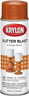 Krylon K03807A00 Glitter Blast, Orange Burst, 5.75 Ounce