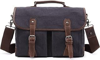 "Men's Accessories Office 9.7"" Laptop Handbag Casual Business Briefcase Shoulder Messenger Outdoor Recreation (Color : Blue)"