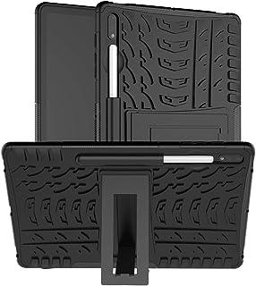 جراب FanTing لهاتف Samsung Galaxy Tab S7 Plus، غطاء مضاد للصدمات قابل للفصل 2 في 1 [مقاوم السقوط] [شديد التحمل] [شديد التح...