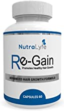 Nutralyfe Regain Herbal Supplement For Hair Loss - 60 Veg Capsules