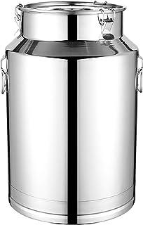 201 Acier Inoxydable Boîte De Lait Tonneaux De Vin Pot De Produits Laitiers En Seau Pichet Fourre-Tout Boîte De Rangement ...