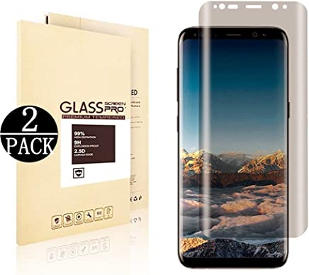 [2 Pack] Galaxy S8 Plus Screen Protector.DRGSDR Privacy Tempered Glass Anti -