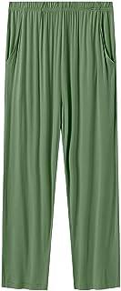 Sponsored Ad - Akula Men's Summer Pajamas Pants Lightweight Ultra-Soft Knit Sleepwear Bottoms PJ Lounge Pants with Pockets