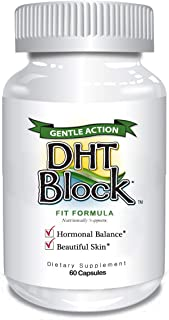 DHT Block - DHT Blocker Supplement for Skin, Acne, PCOS, Hair, and Hormonal Balance. Dim, Astragalus Root, ...