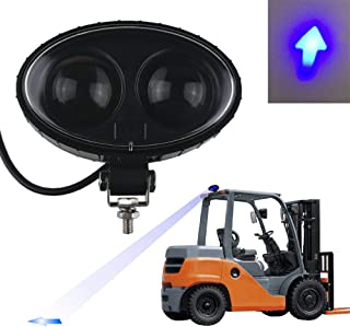Audak 10W CREE Blue LED Forklift Safety Arrow Spotter Light Warehouse Safe Warning Light