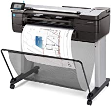 """$2999 » HP DesignJet T830 Large Format Multifunction Wireless Plotter Printer - 24"""", with Mobile Printing (F9A28A) (Renewed)"""