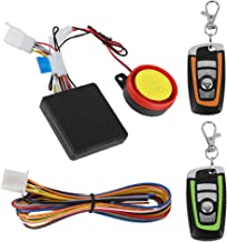 Tangxi Motorcycle Alarm System, 12V Motorcycle Anti-Theft with Remote Control,125ddB Super Sound& Flashing Lights Warning,...