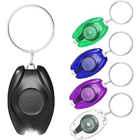 LED UV Wiederaufladbar 405nm Schlüsselring Mini Torch für Sicherheit Gitd