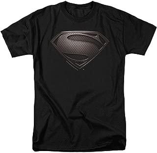 Superman Man of Steel Movie Shields T Shirt & Stickers