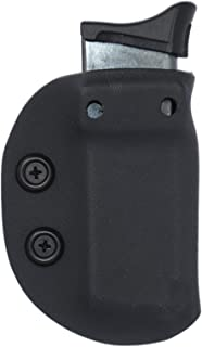 Black Jacket Holster IWB/OWB Ambidextrous Magazine Carrier Mag Pouch Ruger LCP, EC9(s) and LC9 Models