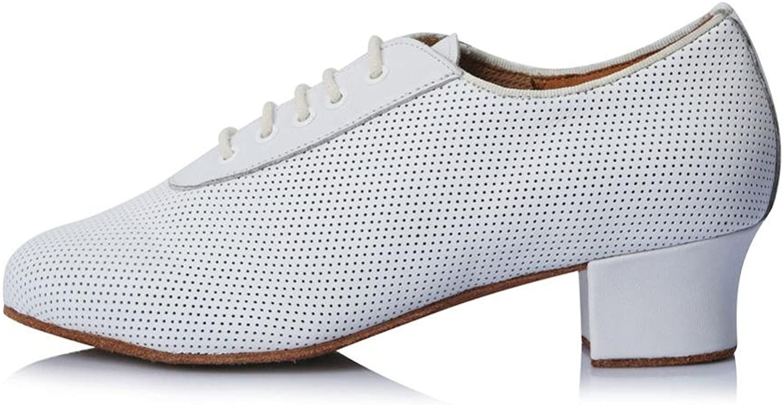 YFF Professionelle Frauen niedrig Ferse Latein Schuhe Tanz Shose für Lehre Schuhe Tango
