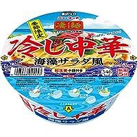 ニュータッチ 凄麺 冷し中華 海藻サラダ風 131g ×12個