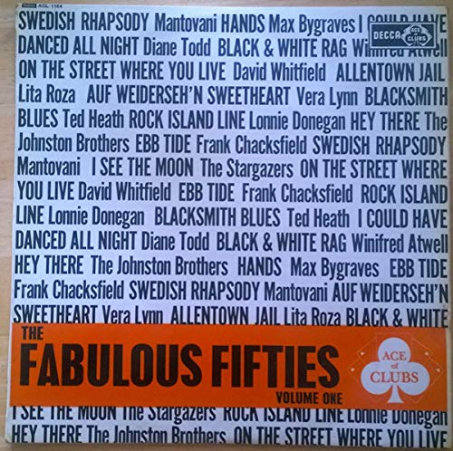 The Fabulous Fifties Volume One [Vinyl LP]