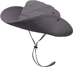 OMECHY Waterproof Outdoor Bucket Mesh Hat Summer UV Protection Sun Cap Boonie Fishing Camouflage Hat