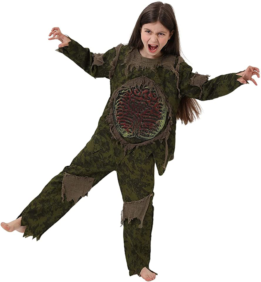 XIOYIG Horror Costume and Cosplay Halloween Party Clothes,Gift for Kids