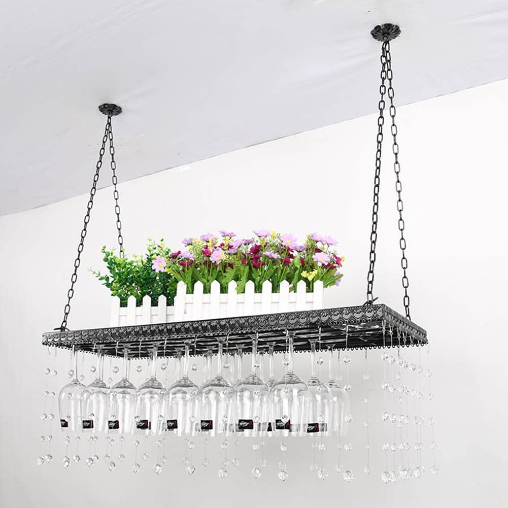 GAIXIA European Hanging Wine Glass Deluxe Holder Wrough Max 70% OFF Bar Rack Goblet