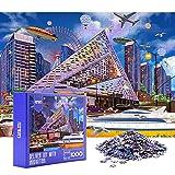 HXMARS Jigsaw Puzzles 1000 pezzi per adulti, bambini, grandi giochi di puzzle per famiglie...
