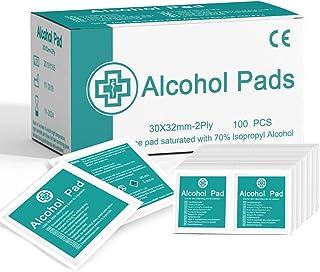 Janolia 100 pcs Toallitas de Alcohol, Toallitas Fáciles de