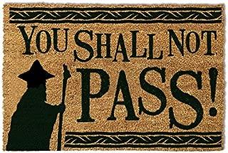 Pyramid Gandalf You Shall Not Pass Doormat Entrance Mat