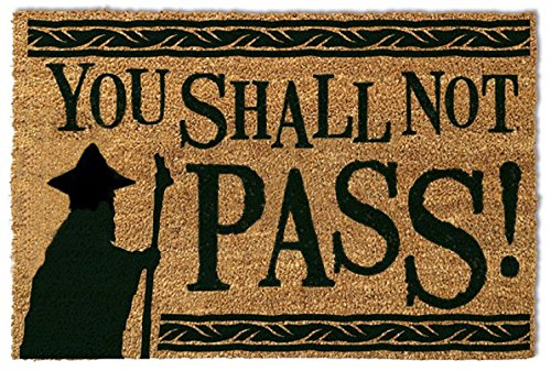 Pyramid International - RD-RS461021 - Felpudo You Shall Not Pass! De El Señor De Los Anillos