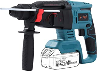 KATSU FIT-BAT 21V Cordless Brushless Motor SDS Rotary Hammer Drill 26mm Without Batteries (Body Only)