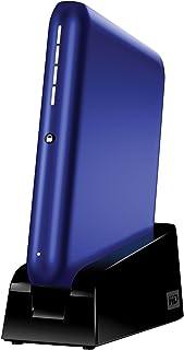 قرص صلب خارجي محمول سعة 500 جيجابايت USB 2.0 من WD My Passport Elite (أزرق معدني)