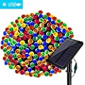 Solarmks Solar Christmas Lights,220 LED Solar String Lights Waterproof 8 Modes Ambiance Lighting for Outdoor