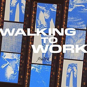 Walking To Work