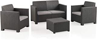 Shaf EVO Conjunto Muebles Sofá 2 Plazas + 2 Sillones,