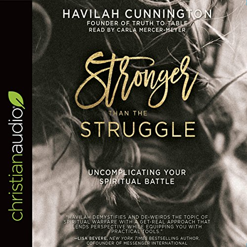 Stronger than the Struggle audiobook cover art