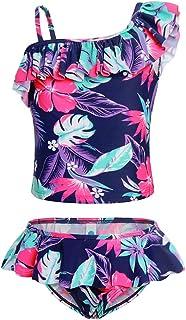 WonderBabe Girls Unicorn Swimsuit Toddler Mermaid Bathing Suit Beach Sport Bikinis Party Swimwear
