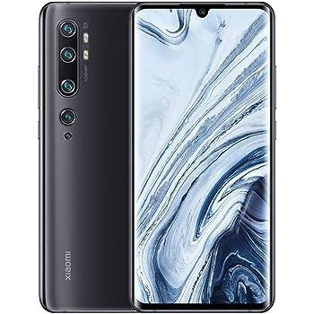 "Xiaomi Mi Note 10 Smartphone, 6GB RAM 128GB ROM, Pantalla AMOLED Curva 3D de 6.47"", 5 Cámaras (108MP+12MP+5MP+2MP+32MP), Versión Global (Negro/Midnight Black): Amazon.es: Electrónica"