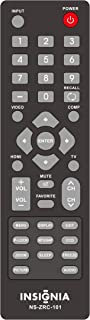 Replaced Insignia NS-ZRC-101 Remote Control for Insignia LCD LED TVs NSLCD3209CA NS-LCD26-09 NS-LCD32-09