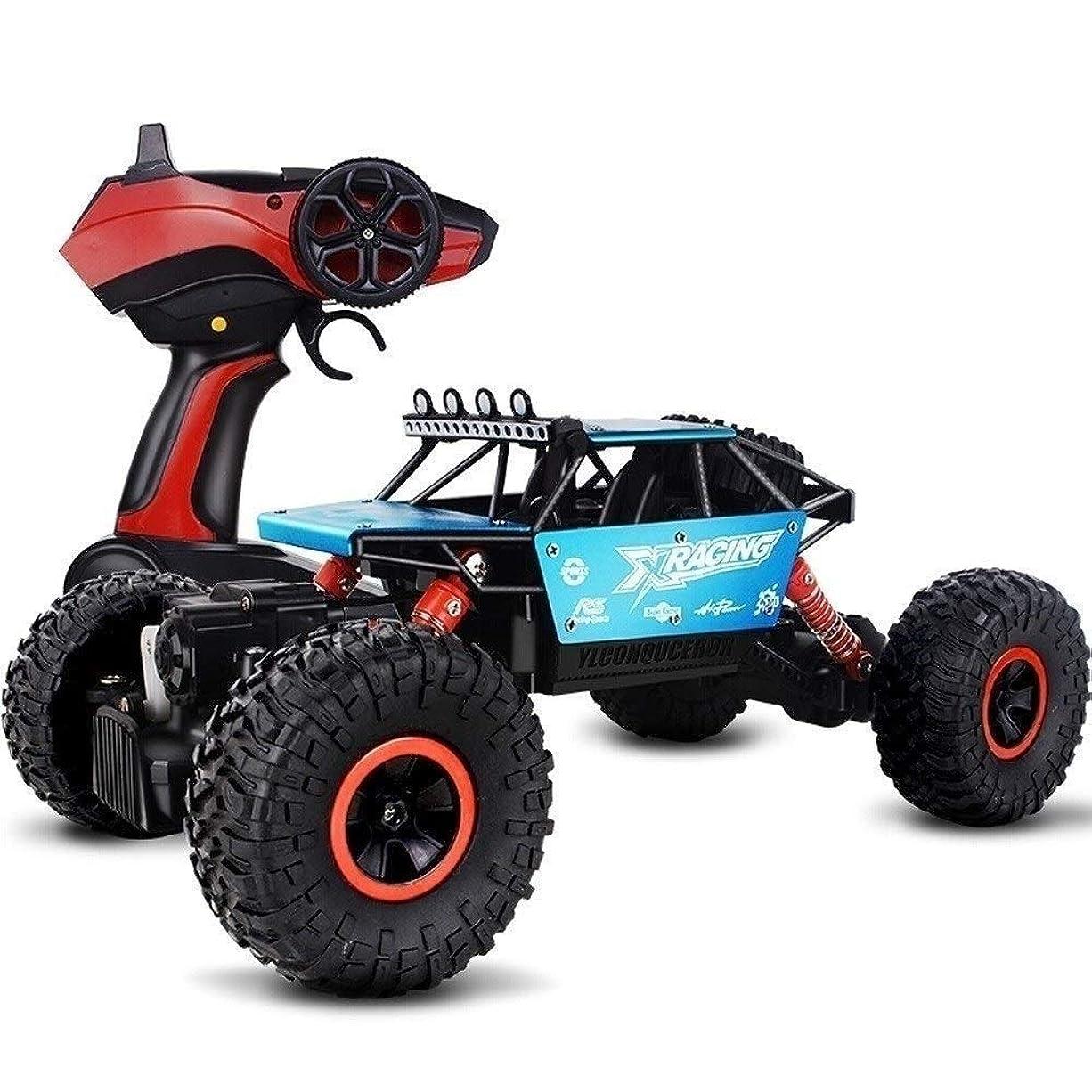 落とし穴素人教室SSBH 大型電動リモートコントロールカーSUV 4輪駆動キッズ大人幼児の男の子女の子のギフトのためにトラック子供のおもちゃのオフロード車両充電ビッグフットクライミングレーシングクライミング