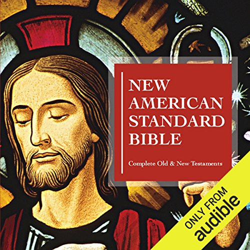 New American Standard Bible audiobook cover art