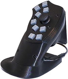 マウスと使うコントローラー マウサーパッド FPSゲームに最適! ゲーミングキーボード ゲームパッド