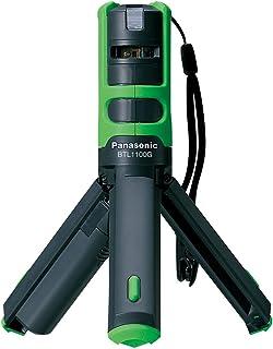 Panasonic(パナソニック) レーザーマーカー 墨出し名人 ケータイ 壁十文字タイプ プラスチックケース付き グリーン BTL1100G