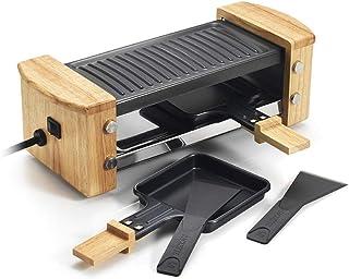 Kitchen chef - kcwood.2 - Appareil à raclette 2 personnes 350w + gril