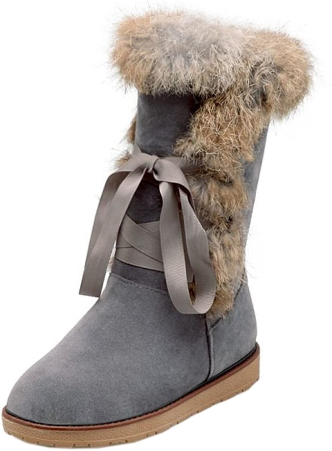 CarziCuzin Women Cold Weather Boots Pull On