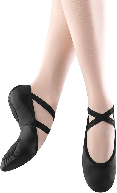 Bloch Dance Woherren Prolite II II Leather Ballet Slipper, schwarz, 4.5 B US  auf Lager