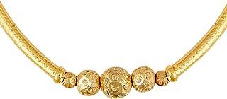 قلادة نسائية بطراز ثوشي تقليدي مطلية بالذهب عيار 24 قيراط من بودها للنساء والفتيات (SJ_2296)